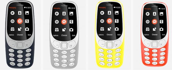 Nokia 3310 - nouveau modèle - Rue MontGallet