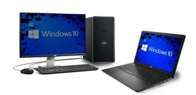 un PC bureau et un ordinateur portable - Rue Montgallet
