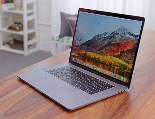 MacBook Pro 2018 avec une membrane en Silicone sous les touches