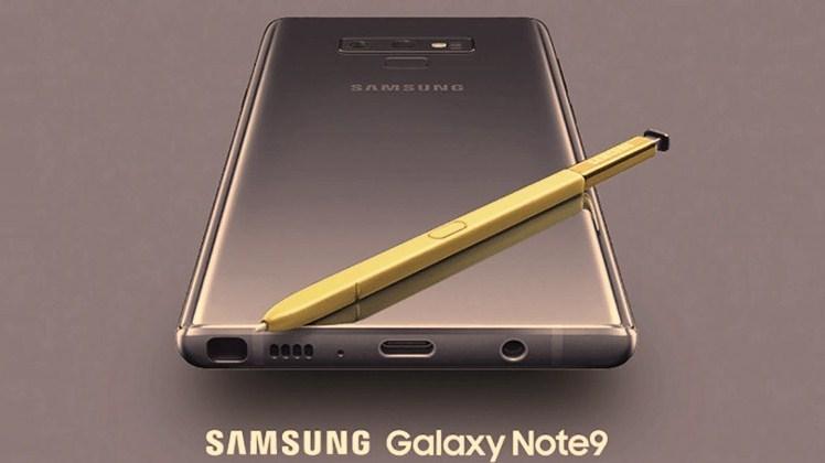 Samsung Galaxy Note 9 - Rue Montgallet