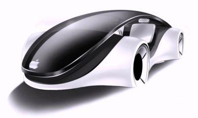 Apple car - Voiture autonome d'Apple - Rue Montgallet