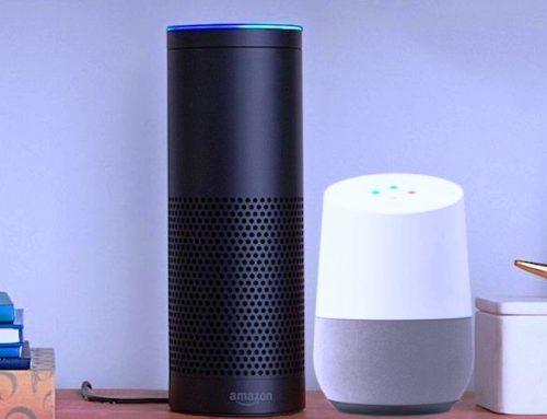 Les enceintes connectées d'Amazon et de Google: Echo et Home