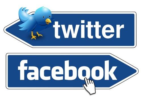 Twitter et Facebook - Les réseaux sociaux les plus populaires - Rue Montgallet