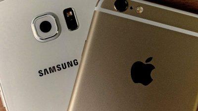 Samsung et Apple Sanctions en Italie