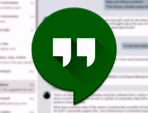 Google: Une transition vers d'autres plateformes pour Hangouts