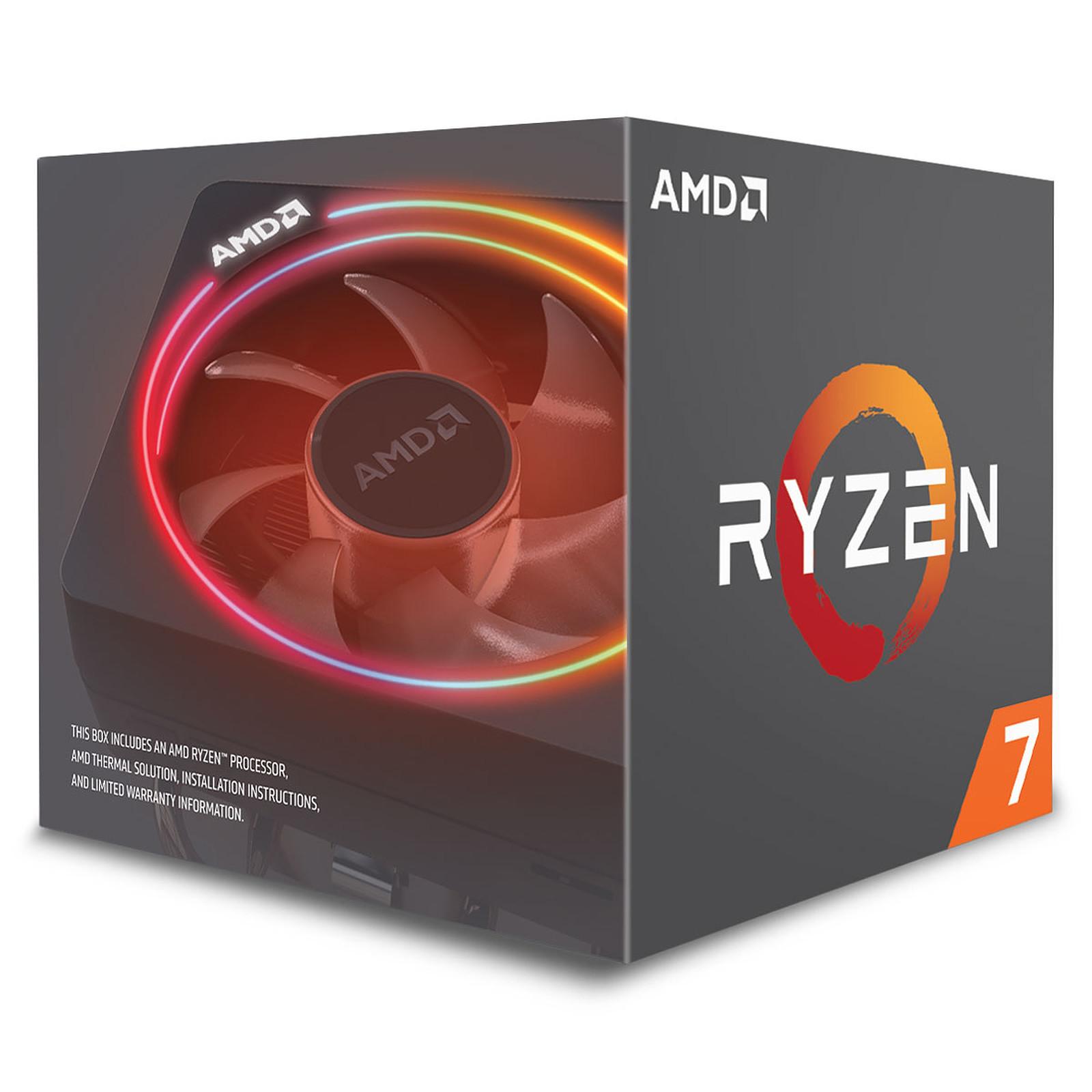AMD Ryzen 7 2700X - Rue Montgallet