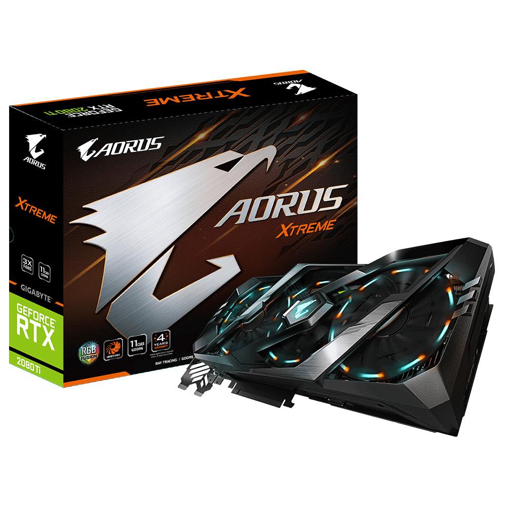 Gigabyte Aorus GeForce RTX 2080 Ti - Rue Montgallet