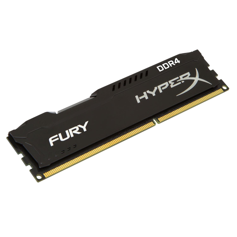 HyperX Fury Noir 16 Go - Rue Montgallet