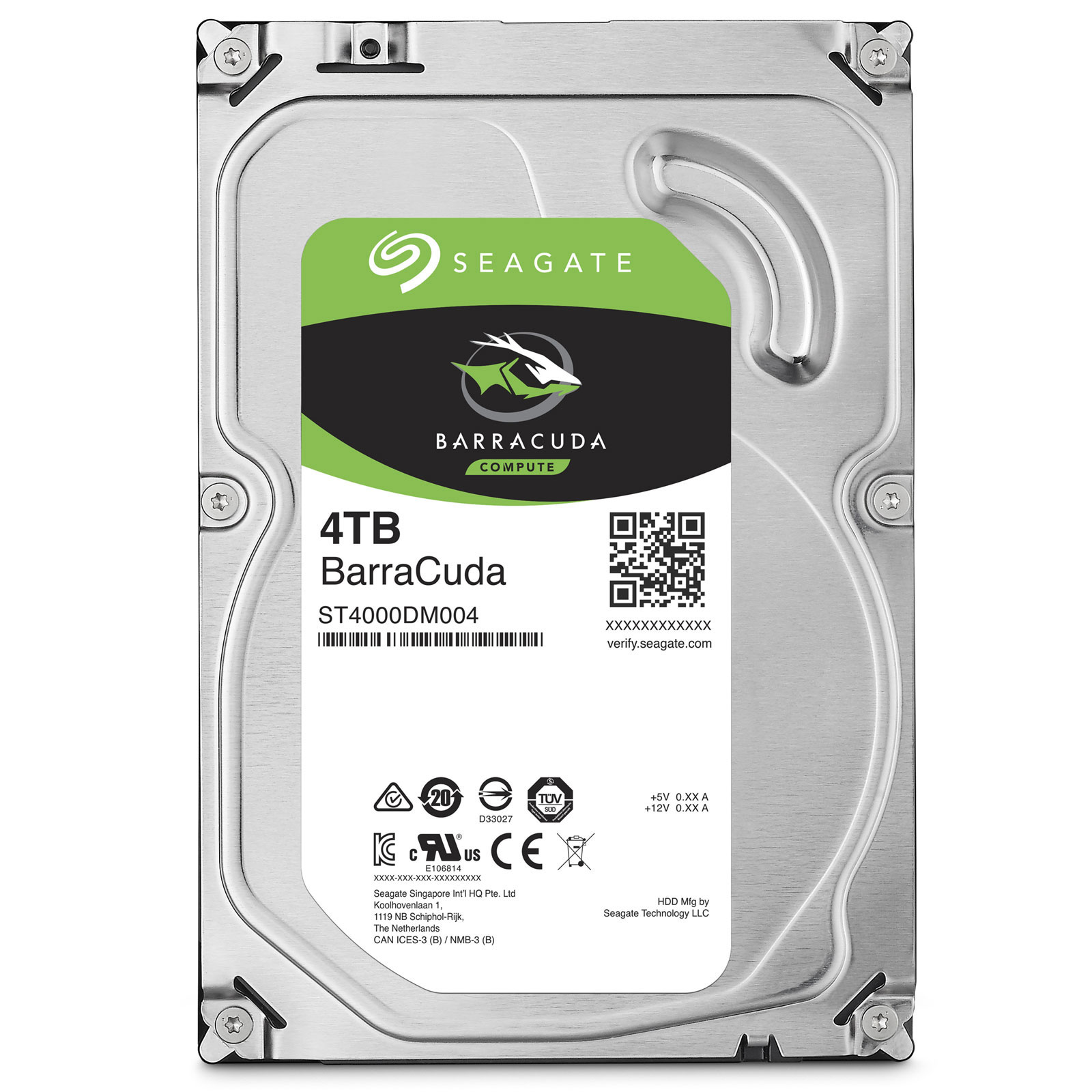 Seagate BarraCuda 4 To - Rue Montgallet