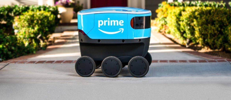 robot livreur Amazon - Rue Montgallet