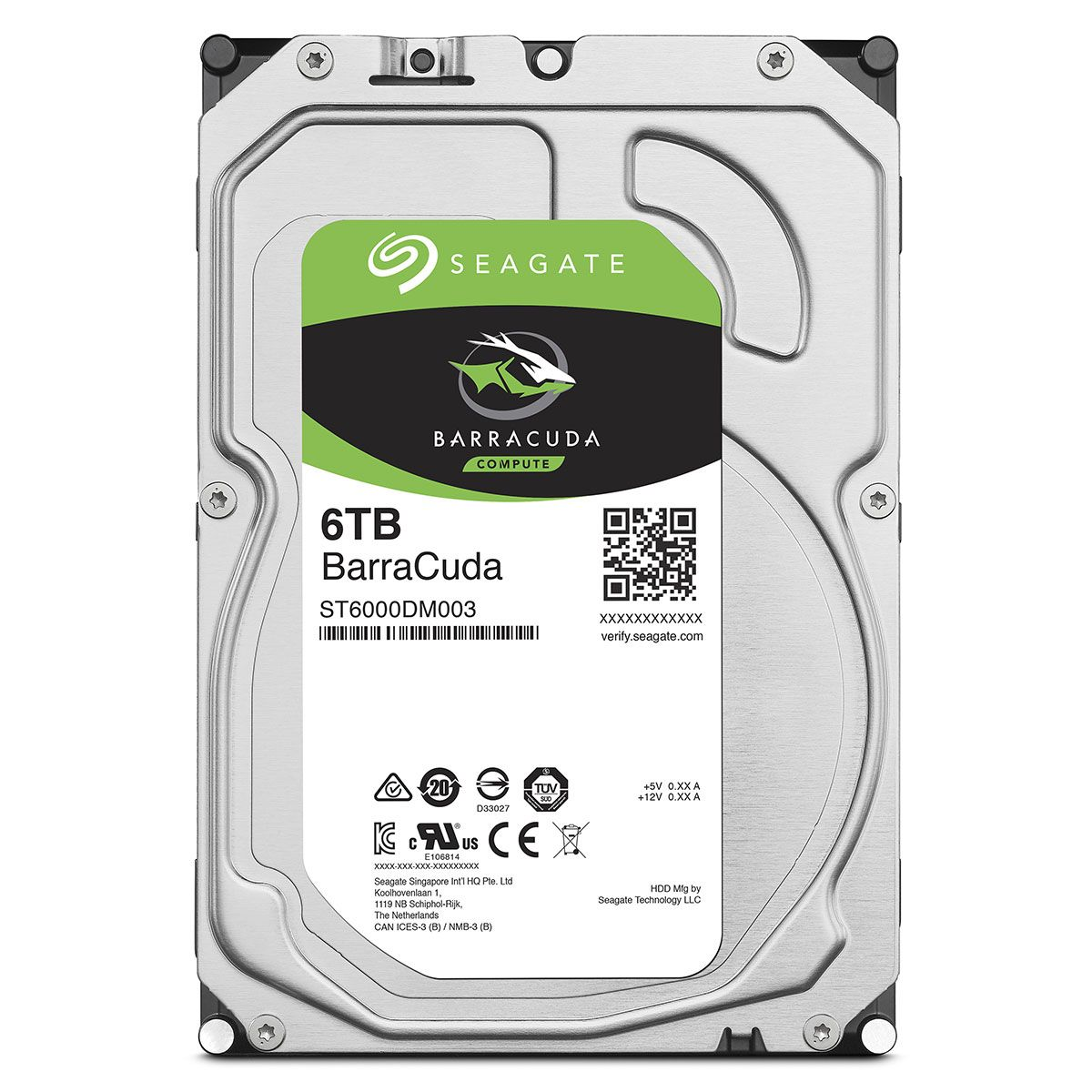 seagate barracuda 6 to - disque dur interne - Rue Montgallet