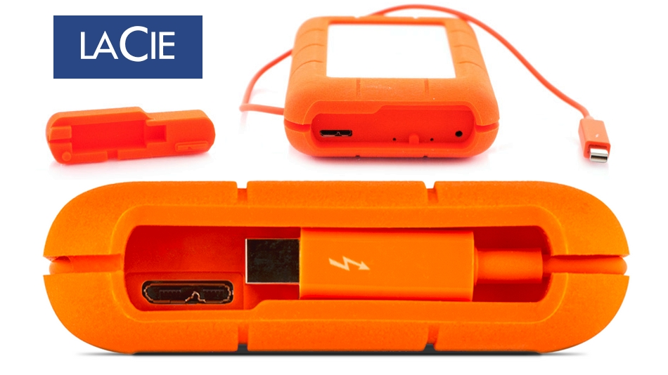 LaCie Rugged RAID Pro (4 To) rue montgallet
