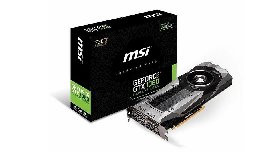 MSI GeForce GTX 1080 Founders Edition - Rue Montgallet
