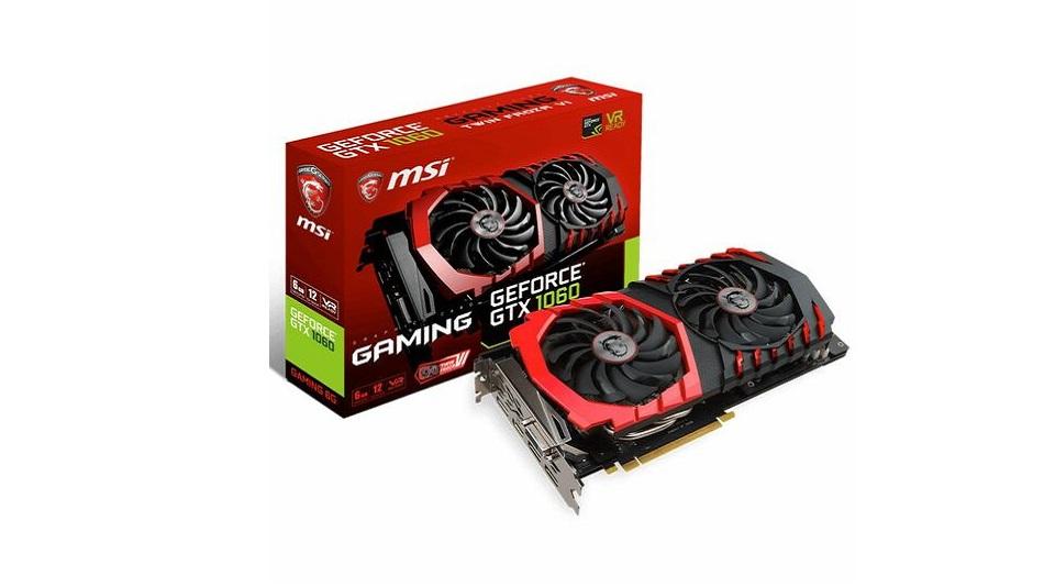 Nvidia GeForce GTX 1060 - Rue Montgallet