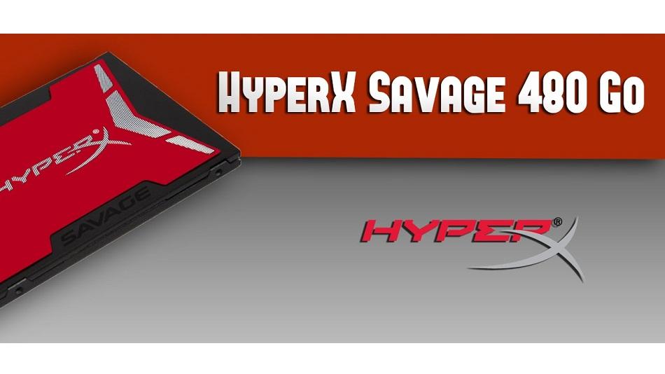 HyperX Savage 480 - Rue Montgallet