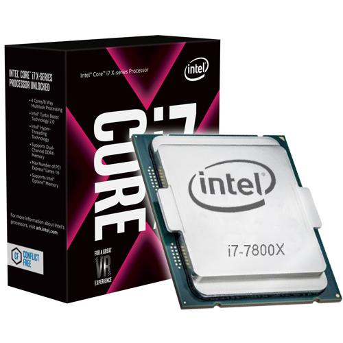 Intel Core i7-7800X (3.5 GHz) - Rue Montgallet