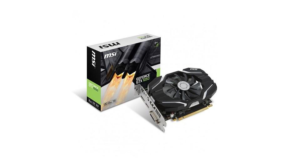 MSI GeForce GTX 1050 2G OC - Rue Montgallet