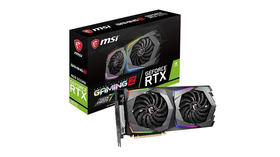 MSI GeForce RTX 2070 GAMING 8G - Rue Montgallet