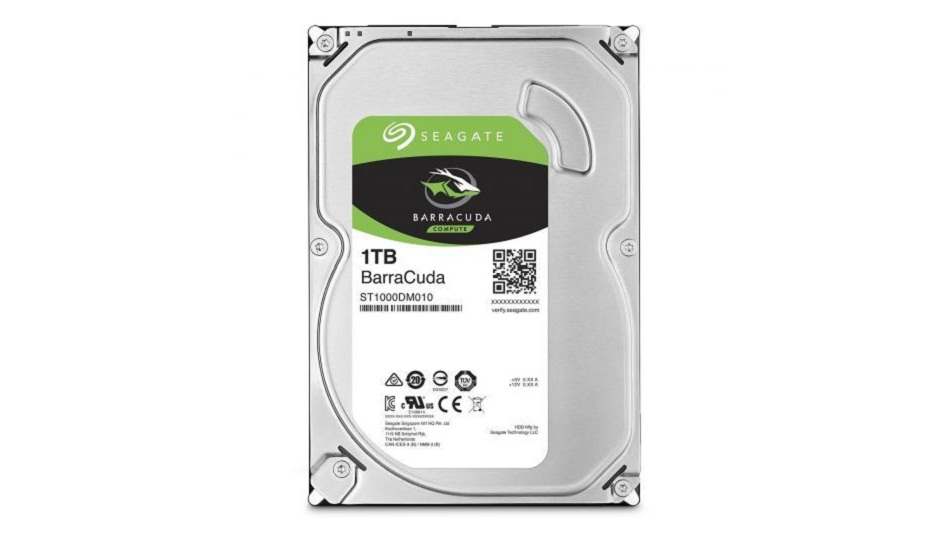 Seagate BarraCuda 1 To (ST1000DM010) - Rue Montgallet