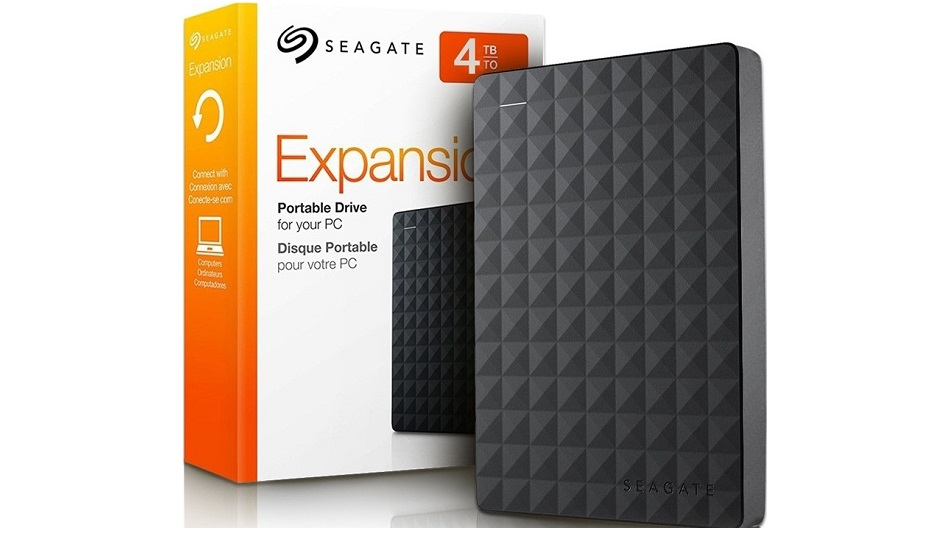 Seagate Expansion Portable USB 3.0 4 To - Rue Montgallet