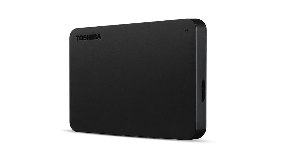 Toshiba Canvio Basics 2 To Noir - Rue Montgallet