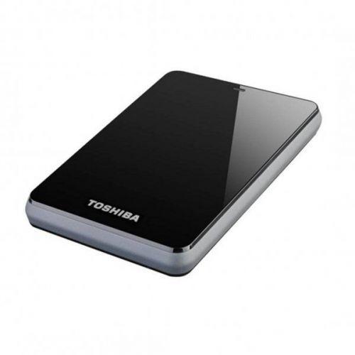 "Toshiba StorE Canvio 2.5"" 500Go (Noir) - Rue Montgallet"