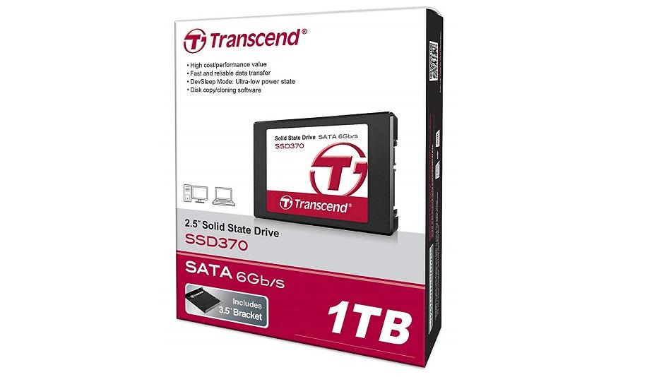 Transcend 1To SSD370 (TS1TSSD370) - Rue Montgallet