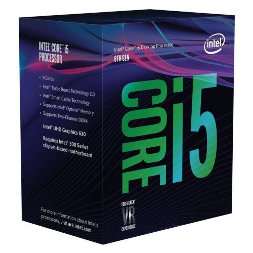 Intel Core i5-8400 (2.8 GHz) - Rue Montgallet