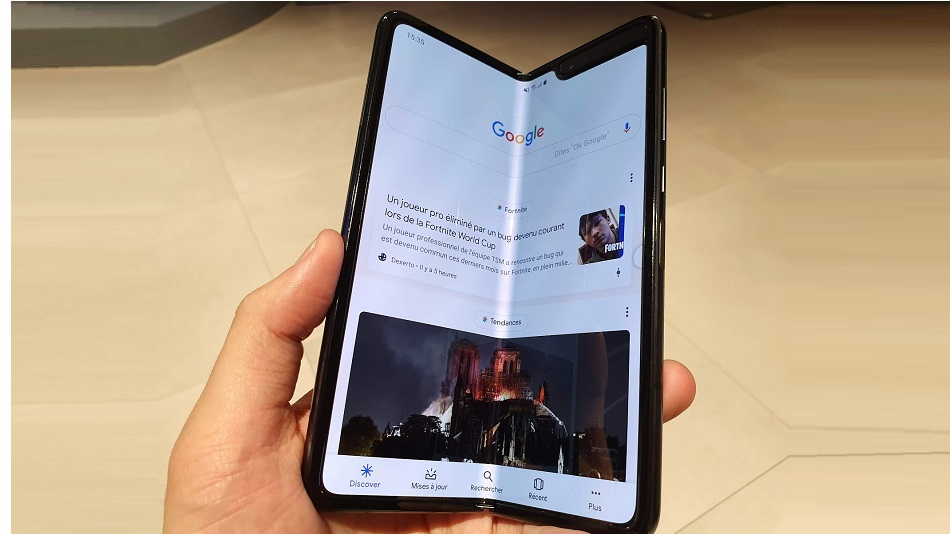 Samsung Galaxy Fold - Rue Montgallet