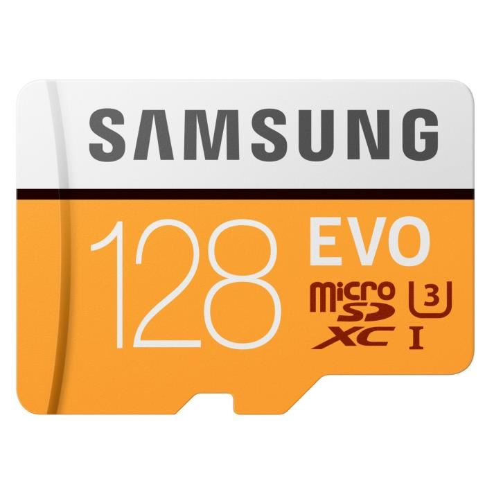 Samsung Micro SDXC EVO 128Go - Rue Montgallet