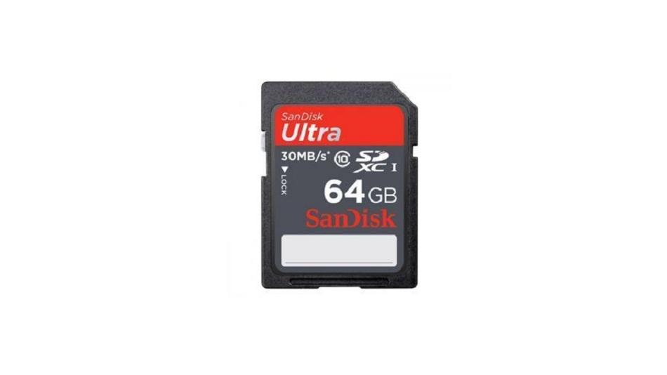 Sandisk Ultra SDXC UHS-I 64 Go CL10 - Rue Montgallet