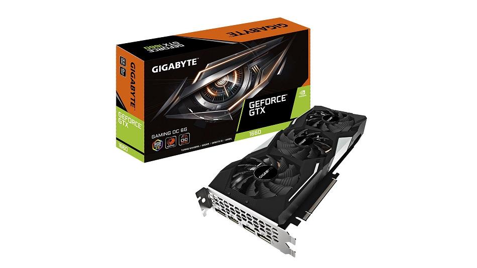 Gigabyte GeForce GTX 1660 OC 6G - Rue Montgallet