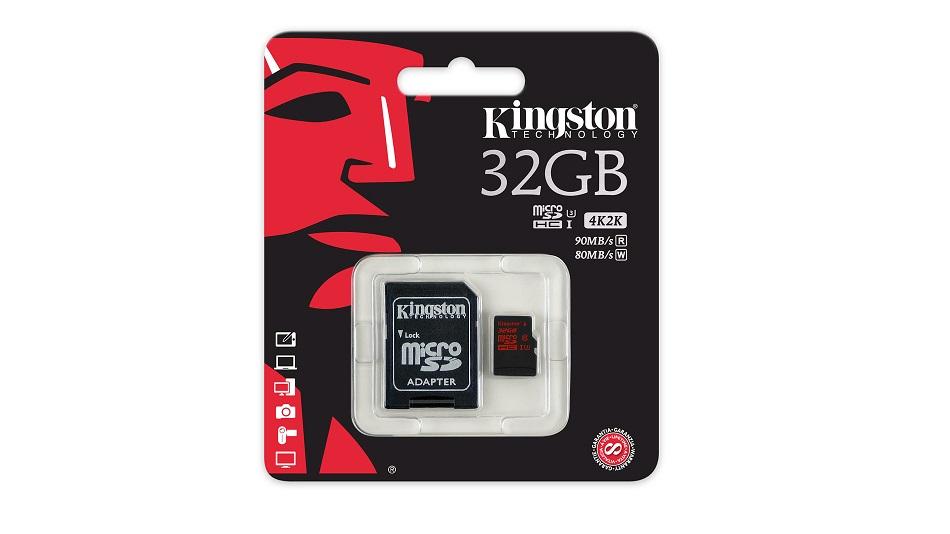 Kingston SDCA3 32GB - Rue Montgallet