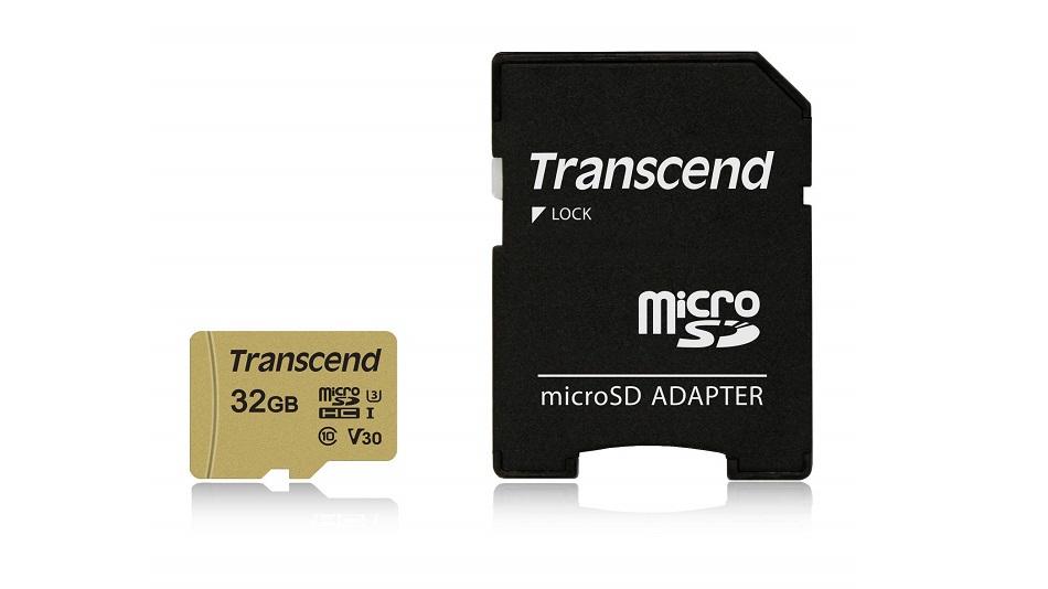Transcend 32GB UHS-I U3 - Rue Montgallet