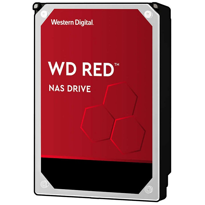 WD 4To S-ATA III 64Mo (WD Red) - WD40EFRX - Rue Montgallet