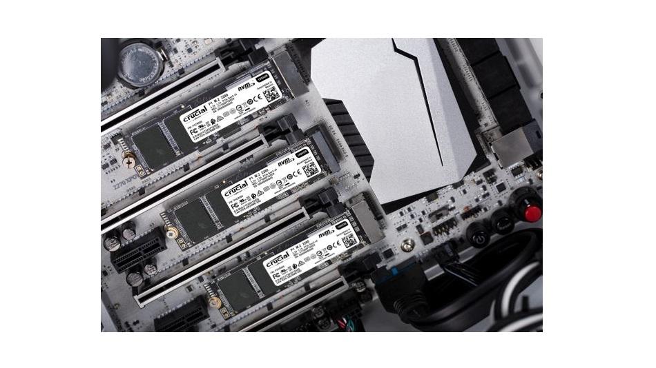 Crucial P1 M.2 PCIe NVMe 1 To - Rue Montgallet
