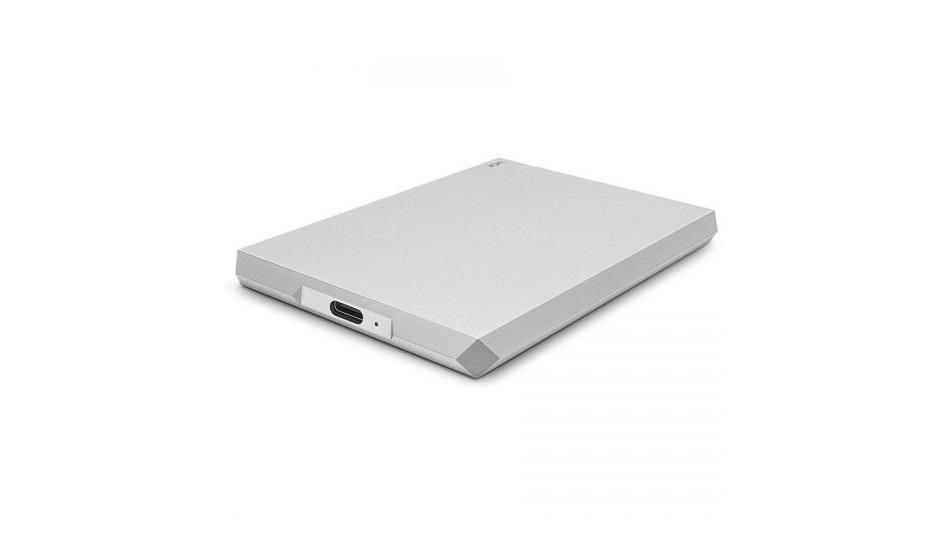 LaCie Mobile Drive 4 To Argent (USB 3.1 Type-C) - Rue Montgallet