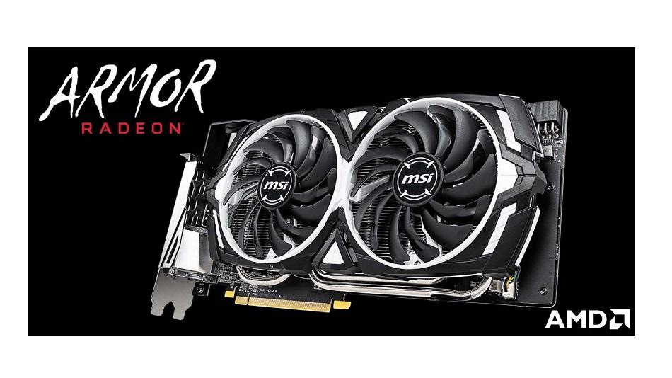 MSI Radeon RX 590 ARMOR 8G OC - Rue Montgallet