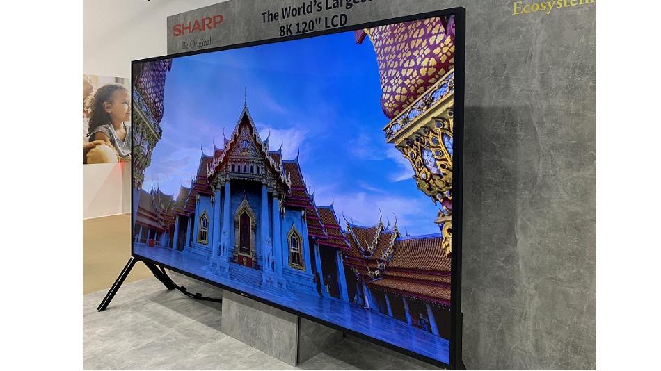"""Sharp 8K 120"""" LCD - Rue Montgallet"""