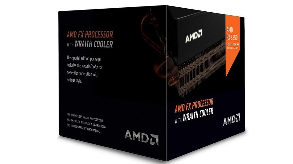 AMD FX 8350 Wraith Cooler Edition (4.0 GHz) - Rue Montgallet