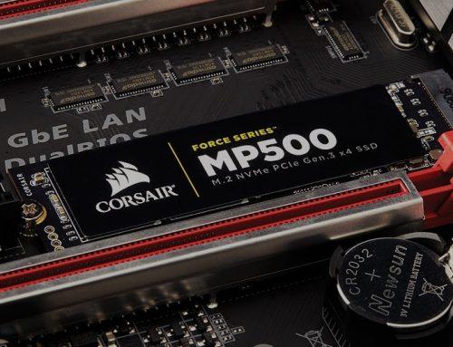 Corsair Force MP500 pour une mémoire flash NAND de type MLC