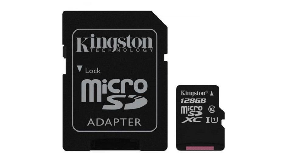 Kingston Canvas Select SDCS-128GB - Rue Montgallet