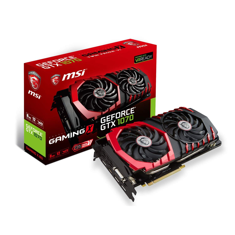 MSI GeForce GTX 1070 Gaming X - Rue Montgallet