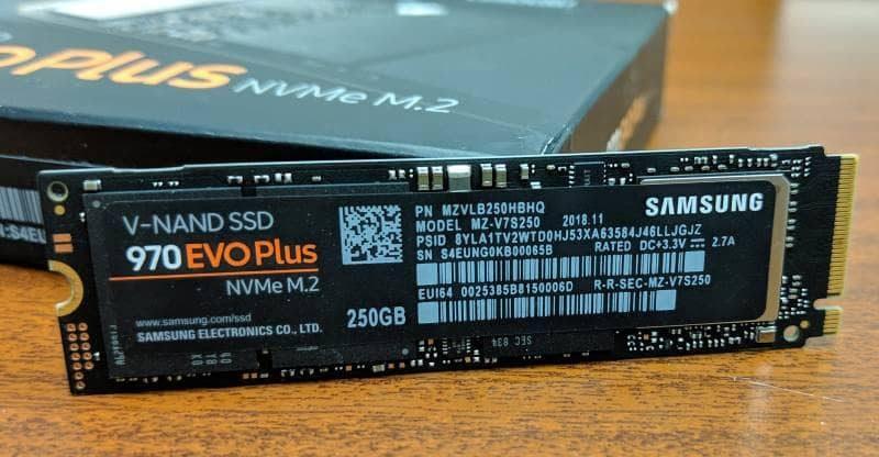 Samsung SSD 970 Evo Plus - Rue Montgallet