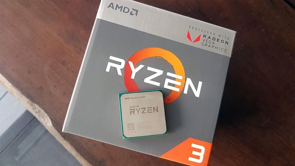 AMD Ryzen 3 2200 G - Rue Montgallet