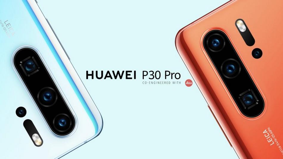 Huawei P30 Pro rue montgallet