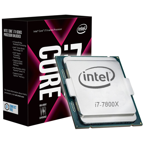 Intel Core i7-7800X (3.5 GHz) - Rue Montgallet