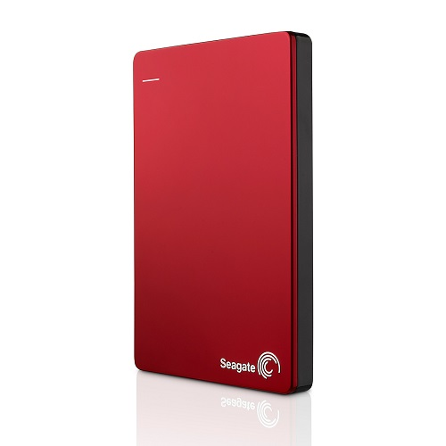 Seagate Backup Plus Slim 2 To Rouge (USB 3.0) - STDR2000203 - Rue Montgallet