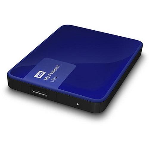 Western digital My Passport Ultra USB 3.0 - 3 To (bleu) - Rue Montgallet