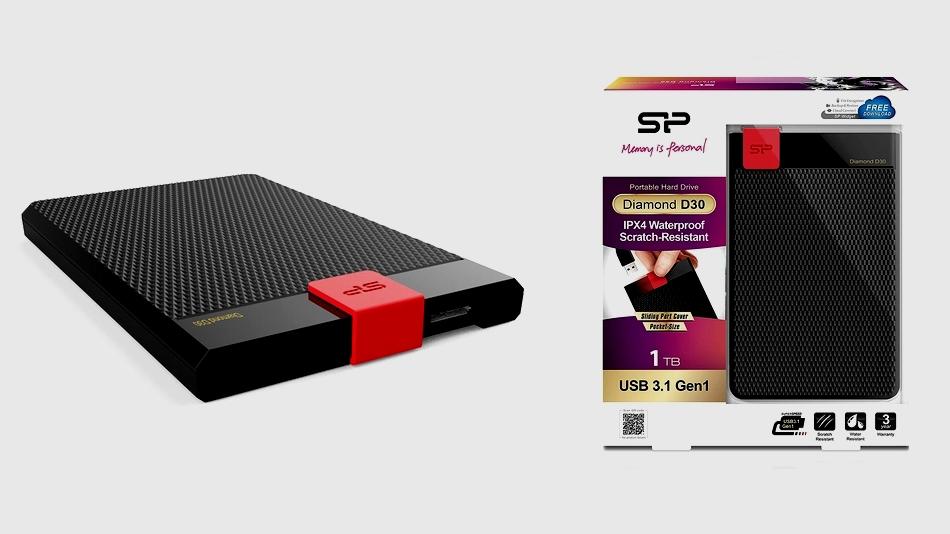 Silicon Power Diamond D30 Slim 1 To rue montgallet